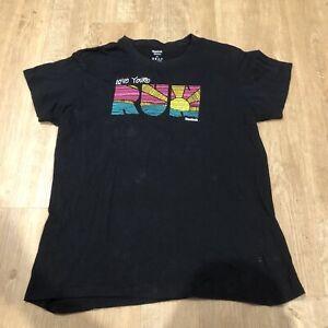 Reebok Love Your Run Logo T Shirt Tee