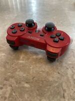 Red Sony Playstation PS3 Sixaxis DualShock 3 Controller - OEM TESTED CECHZC2U