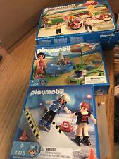 PLAYMOBIL Summer Fun Ice Cream Truck 5962, Kiddie Pool 4864, Roller Skaters 4415