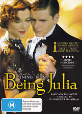 BEING JULIA Annette Bening / Jeremy Irons DVD R4 New  PAL   SirH70