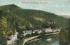 AK aus Giesshübel-Sauerbrunn bei Karlsbad, Tschechoslowakei  (B16)