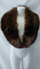 collo stola scialle vera pelliccia volpe lunghezza cm 124