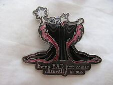 Disney Trading Pins 28305 Maleficent - Being BAD Just Comes Naturally To Me