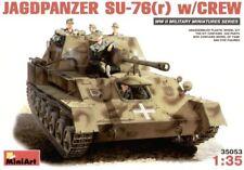 Miniart 1/35 scale   Jagdpanzer Su-76(r) with Crew #35053
