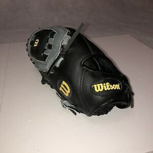 """Wilson A360 LEFT- HANDED THROW Youth Glove 12"""" A03LB15 Genuine Leather"""