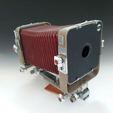 "Plaubel Peco 4x5"" View Camera on monorail Good Condition w Lens Board"