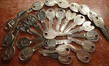 27pcs General Motors Branded GM B47 (K) Uncut Blank Keys NOS For Camero/Corvette