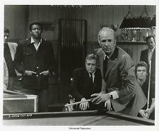 RAYMOND BURR JACK ALBERTSON POOL HUSTLER IRONSIDE ORIGINAL 1969 NBC TV PHOTO