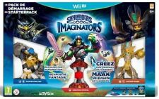 Pack Of Starter Wii U Skylanders Imaginators New Wrapping With Figurine