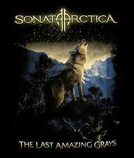 SONATA ARCTICA cd cv LAST AMAZING GRAYS 2010 TOUR Official SHIRT LAST XL New oop