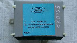Ford Escort Orion Steuergerät Zentralverriegelung 91AG14A093AA central lock ECU