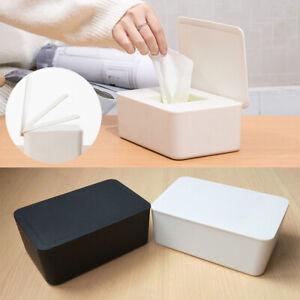 /ücherbox Halter,Kunststoff Feuchtt/ücher Spender,Aufbewahrungsbox f/ür Feuchtt/ücher mit Deckel,Feuchtt/ücher Box Baby,Taschentuchhalter gray