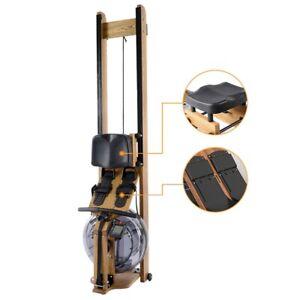 Water Resistance Wood Rowing Machine Home Intelligent Training Rowing Machine