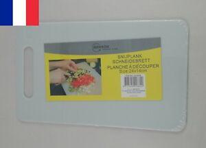Planche à Découper en Plastique 24 x 14 cm Cuisine Légume Fromage Viande