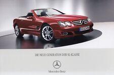 MERCEDES SL R230 FACELIFT 350 500 600 55 65 AMG Roadster Prospekt Brochure 79