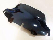 "Black 8"" Wave Windshield Windscreen For Harley Electra Street Touring Cruiser FL"