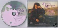 Kathy Mattea - Whole Lotta Holes promo CD Low Postage