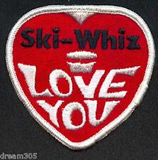 Vintage Skiwhiz 1970's Ski Whiz Snowmobile Patch Crest for Jacket Hat #2!