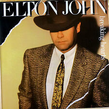 Elton John - breaking Hearts - LP - washed - cleaned - L3660