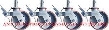 "Cbm 8"" Heavy Duty Scaffolding Non Marking Polyurethane Swivle Caster Wheels"