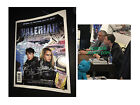 Luc Besson signed Valerian comic graphic novel Dane DeHaan poster photo proof for sale