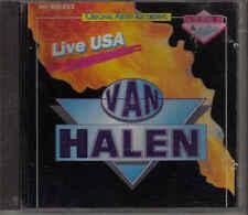 Van Halen-Live USA cd Album