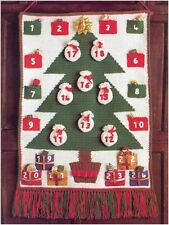 DK Crochet Pattern Instructions to Make Advent Calendar