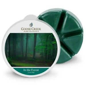 Goose Creek Candle Wax Cube Melts - Woody In the Forest Scent 2.1 oz NEW PACK