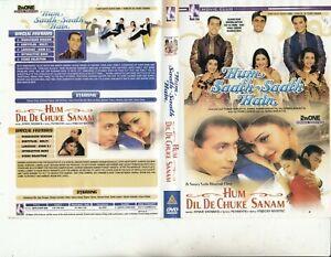 Hum Saath-Saath Hain-1999-Salman Khan/Hum Dil De Chuke Sanam-2 India Movie-DVD