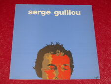 [Coll.R-JEAN MOULIN ART XXe] SERGE GUILLOU / CATALOGUE EXPO CHOISY EO 1976