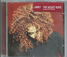 The Velvet Rope CD by Janet Jackson