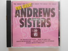 CD The Great Andrews Sisters - 14 Songs