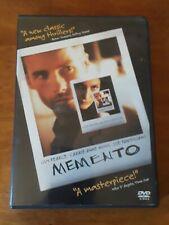 Memento Dvd 2001 Columbia/TriStar Home Entertainment Christopher Nolan