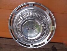 "1959 Chevy Impala Hubcap 14"" Smooth edge"