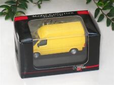 High Speed 1/87 Diecast Model Car 1999 Mercedes Benz Sprinter Van 6cm (Yellow )