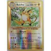 Pokemon Raichu 36/108 - XY12 Evolutions Reverse Rare Holo - Englisch NM