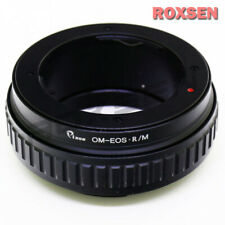 Olympus OM lens to Canon EOS R RF mount macro focusing helicoid adapter R6 R5 RP