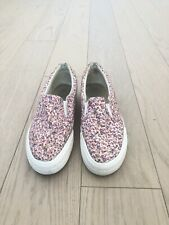 Women's New Look Slip-On Shoes, Size 7 (37-38), Pink, Floral Print