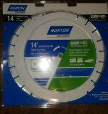NEW Norton 14-inch diamond blade # 50516-038 NO PACKAGE