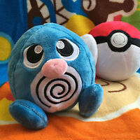 New Authentic Sanei Poliwag Figure Plush Toy Soft Doll Collection Gift
