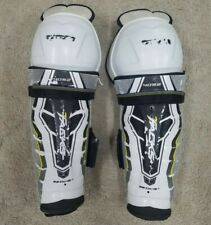"Amazing Condition! Ccm Tacks Hockey Shin Guards 5092 Senior 15""!"