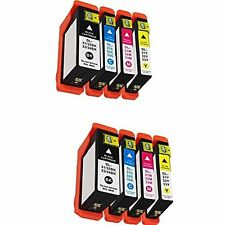 High Yield 8 Ink 31 Black Cyan Magenta Yellow for Dell Printer V525w V725w
