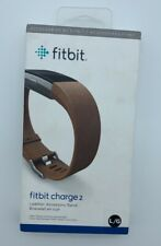 fitbit charge 2 - Leather Accessory Band - Brown