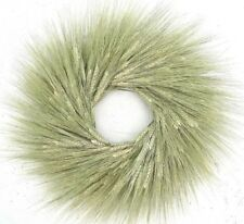 "Natural Green Wheat 19"" Harvest Fall Wreath"