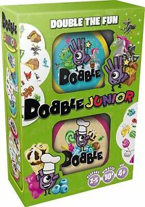 Dobble Junior Twin Pack Card Game