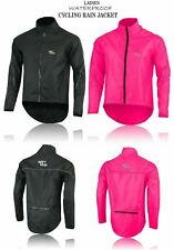 Cycling Jacket Women Ladies Windstopper Hi-Viz Waterproof Bicycle Jacket