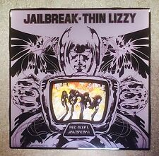 THIN LIZZY Jailbreak Ceramic Tile Coaster Record Cover