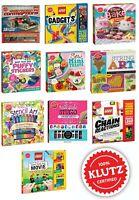 Klutz Children's Activity Collection Toys Lego Gadgets Art Sticker Bake Nail Sty