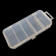 Lure Fishing Bait Tackle Spoon Plastic Box Small