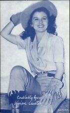 Cowgirl Actress - Arcade Exhibit Card - Vivian Austin